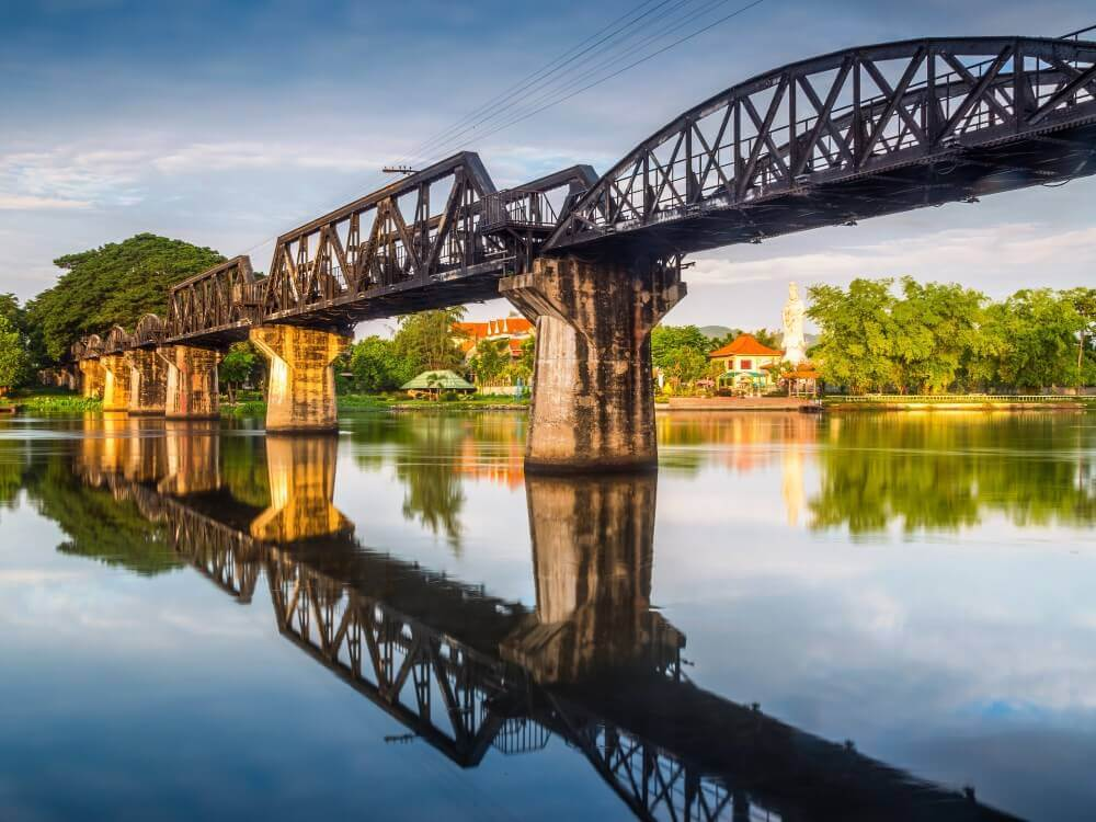 KANCHANABURI RIVER KWAI + LUNCH ONE DAY TOUR