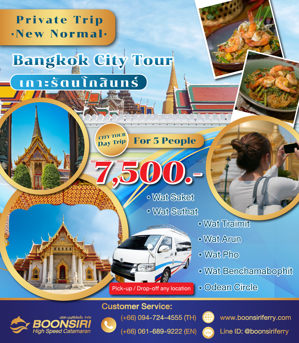 Private Tour : City tour one day trip